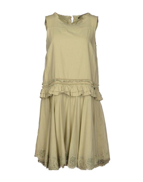 绿色 LIU •JO 短款连衣裙