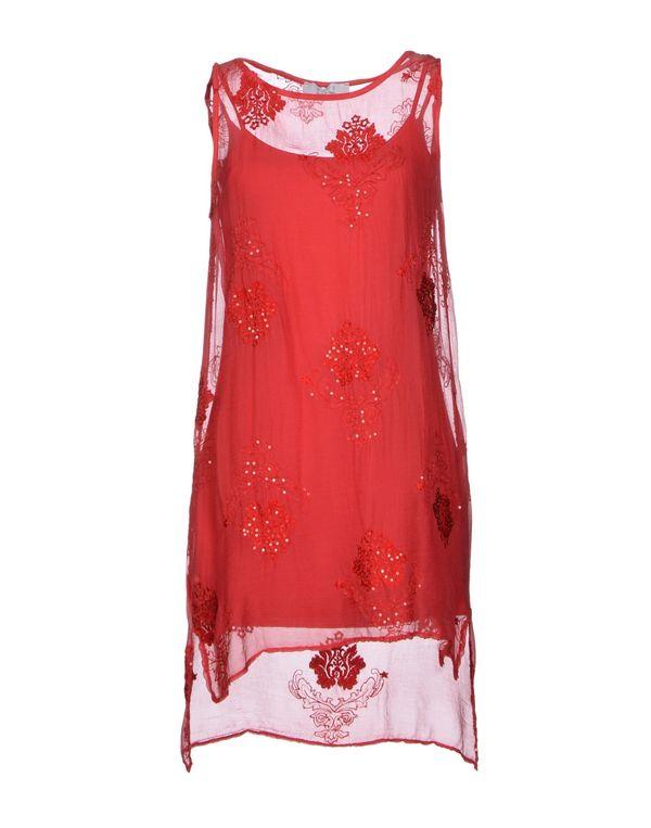 红色 KAOS 短款连衣裙