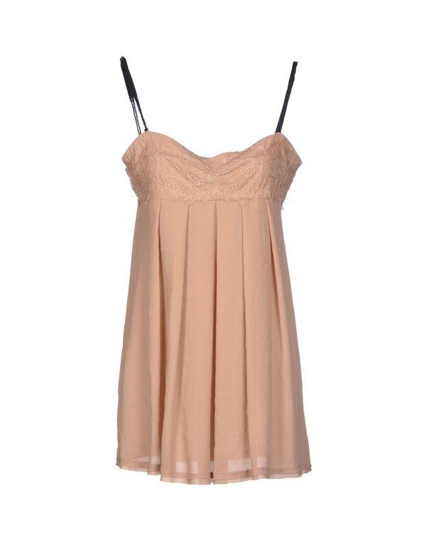 裸色 TWIN-SET SIMONA BARBIERI 短款连衣裙