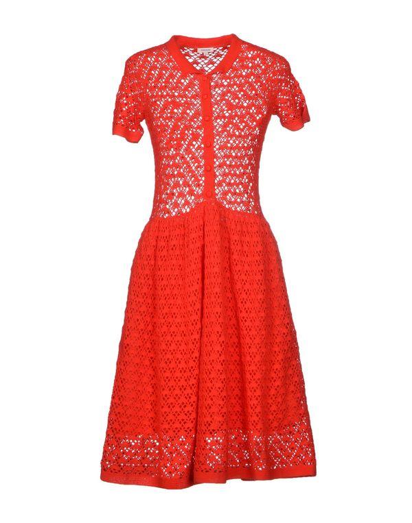 红色 MANOUSH 及膝连衣裙