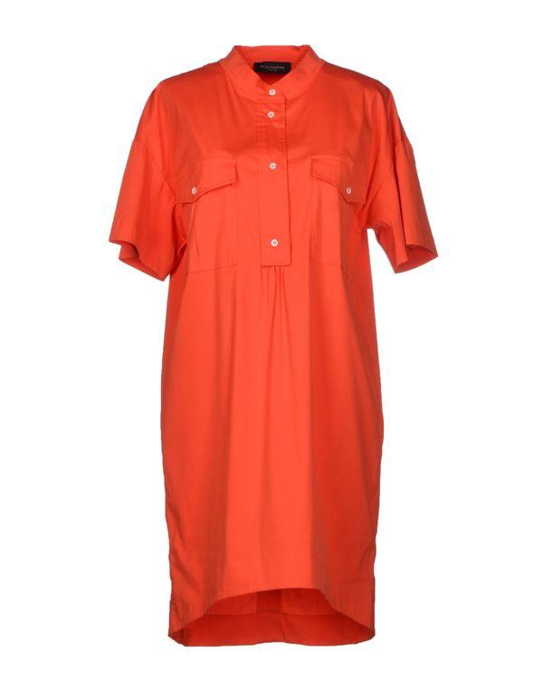 橙色 PIAZZA SEMPIONE 短款连衣裙