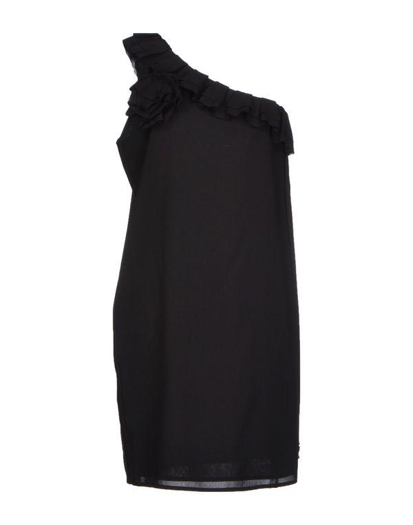 黑色 TWIN-SET JEANS 短款连衣裙