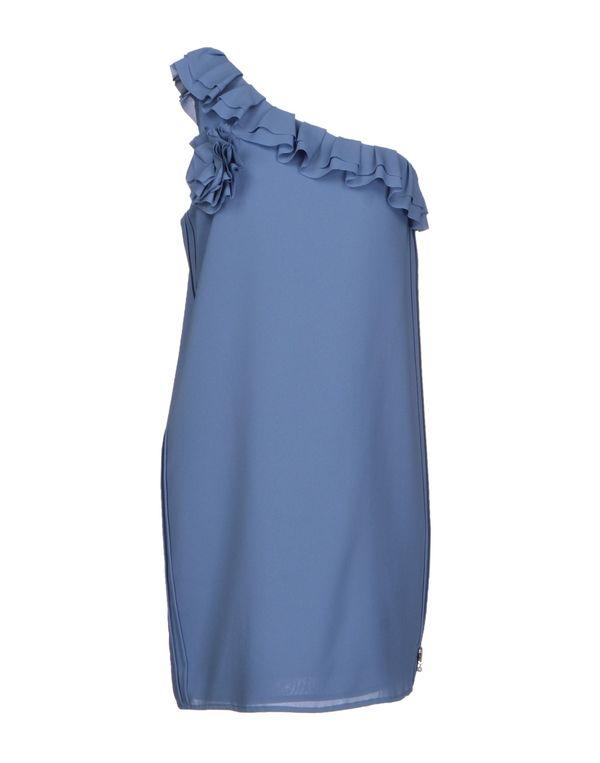 石青色 TWIN-SET JEANS 短款连衣裙
