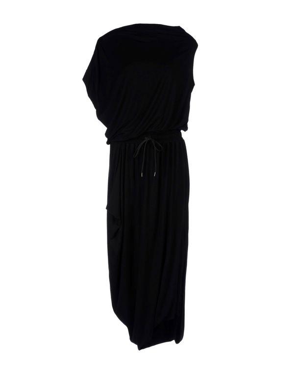 黑色 VIVIENNE WESTWOOD ANGLOMANIA 长款连衣裙