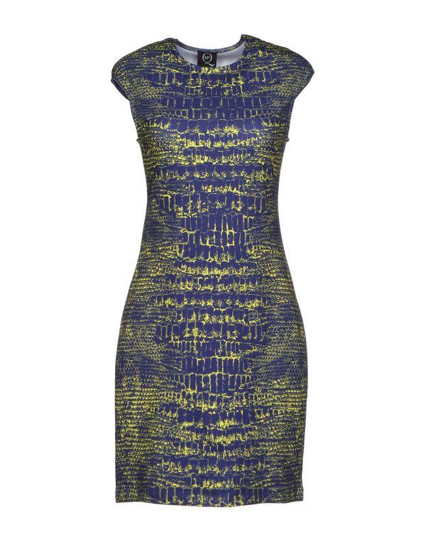 蓝色 MCQ ALEXANDER MCQUEEN 短款连衣裙