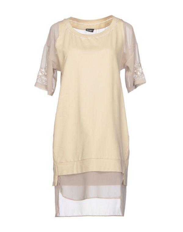 米色 PF PAOLA FRANI 短款连衣裙