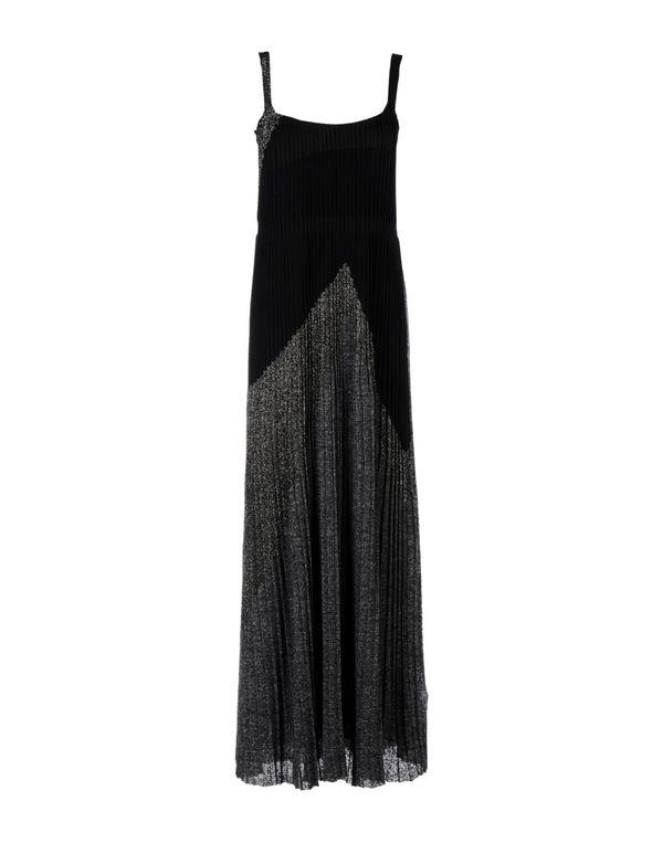 黑色 MISSONI 中长款连衣裙