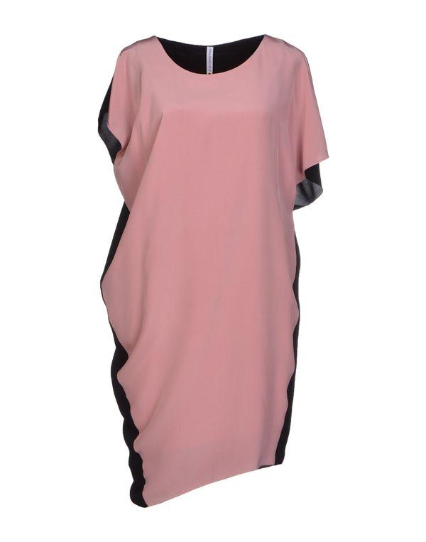 粉红色 PIANURASTUDIO 短款连衣裙