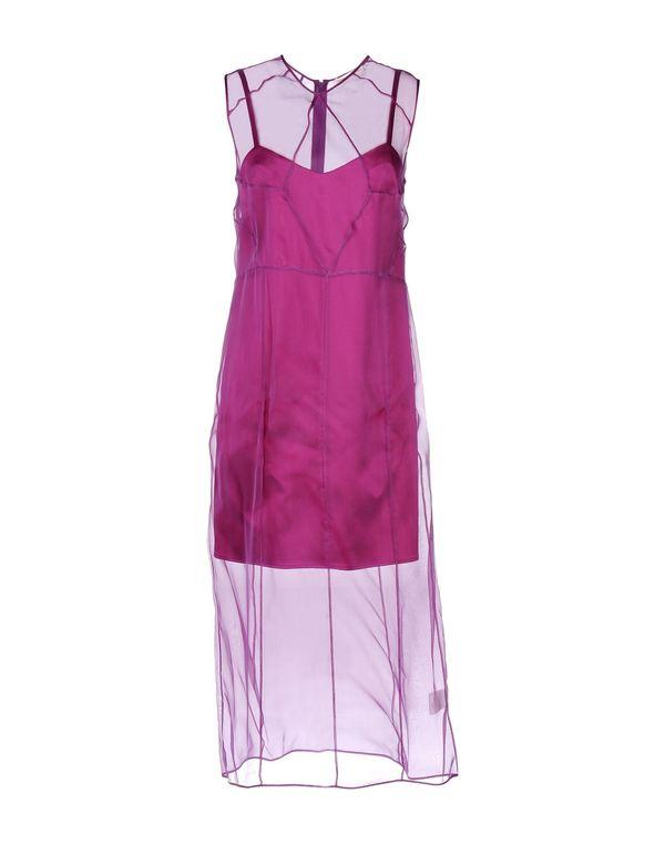 紫色 BARBARA CASASOLA 中长款连衣裙