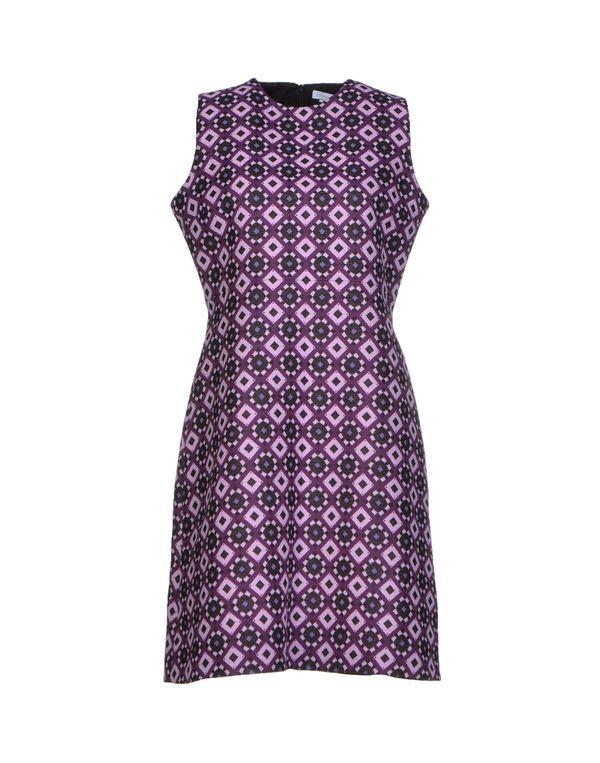 紫色 VICTORIA, VICTORIA BECKHAM 短款连衣裙