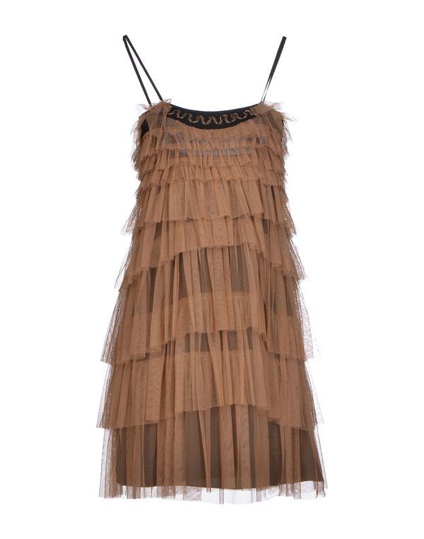 驼色 LIU •JO 短款连衣裙