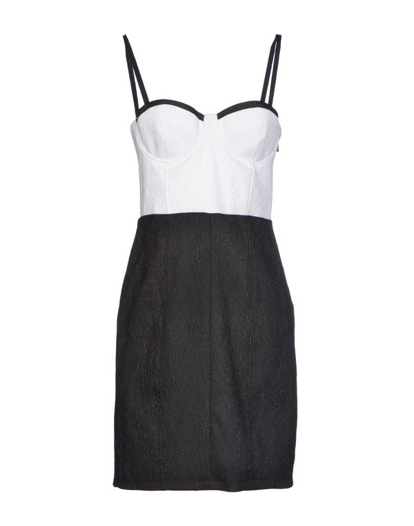 白色 ALICE+OLIVIA 短款连衣裙