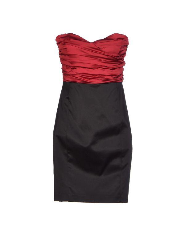 砖红 HANITA 短款连衣裙