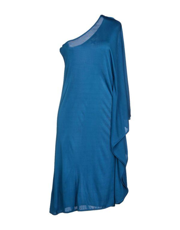孔雀绿 MAGAZZINI DEL SALE 及膝连衣裙