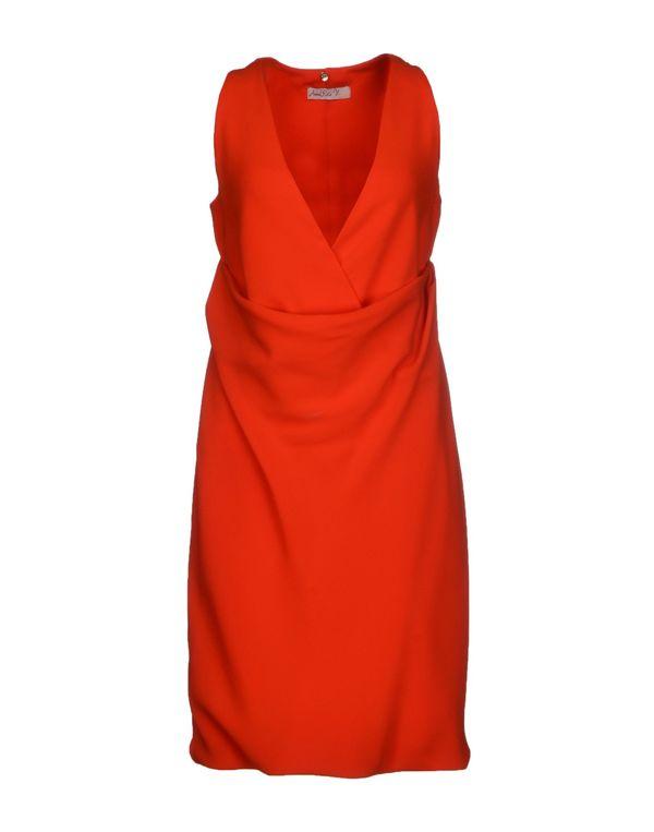 红色 ANNARITA N. 短款连衣裙