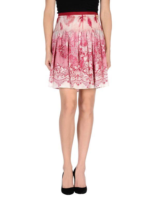 石榴红 LIU •JO 及膝半裙