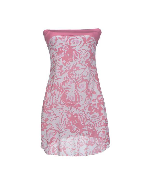 粉红色 LIU •JO 短款连衣裙