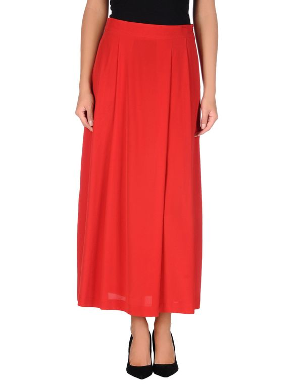 红色 LOVE MOSCHINO 长裙