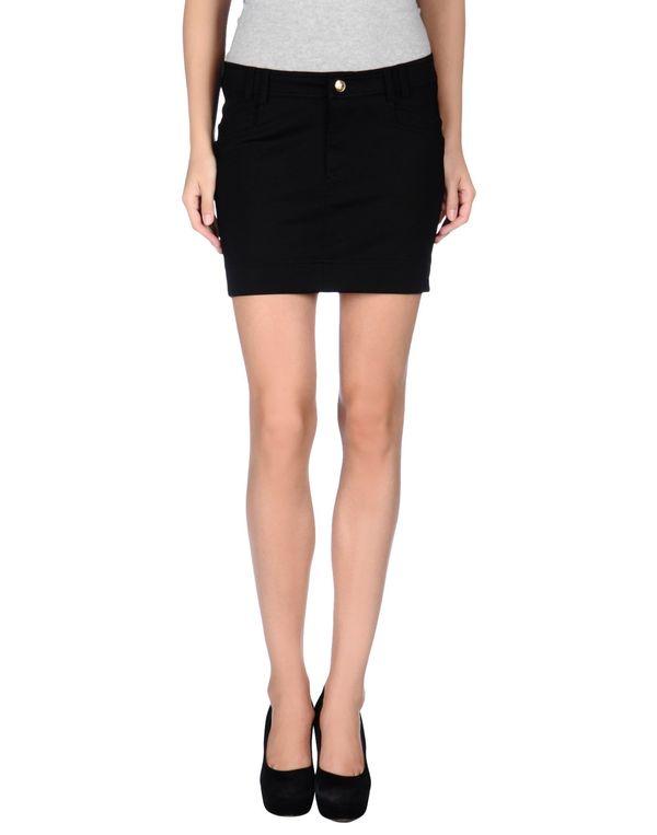 黑色 JUST CAVALLI 超短裙