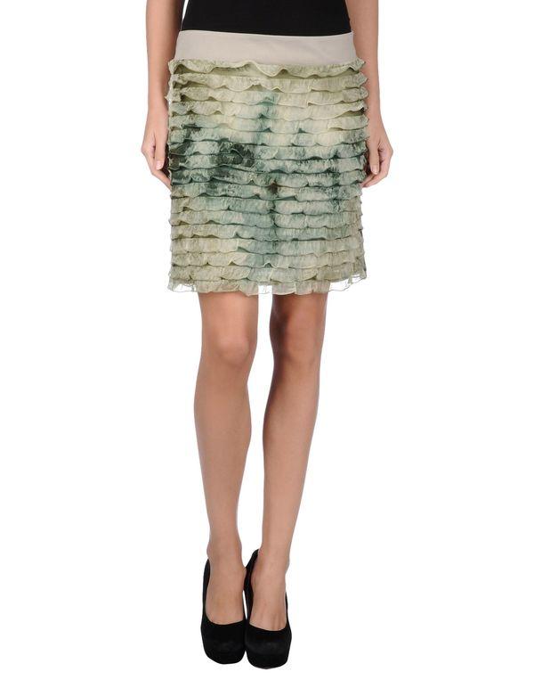 浅绿色 LIU •JO 超短裙