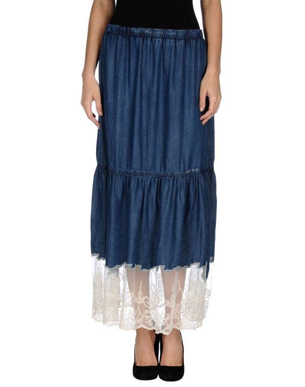 蓝色 LIU •JO JEANS 牛仔半裙