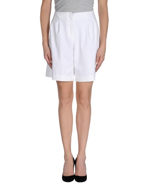 白色 LAVINIATURRA 百慕达短裤