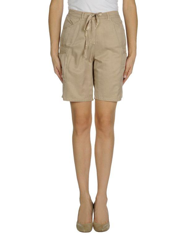 淡灰色 TWIN-SET SIMONA BARBIERI 百慕达短裤