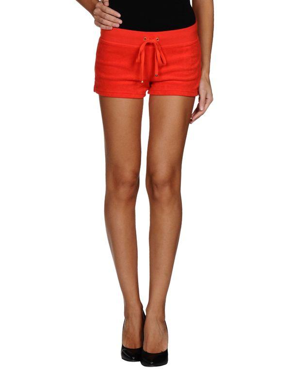 珊瑚红 JUICY COUTURE 短裤
