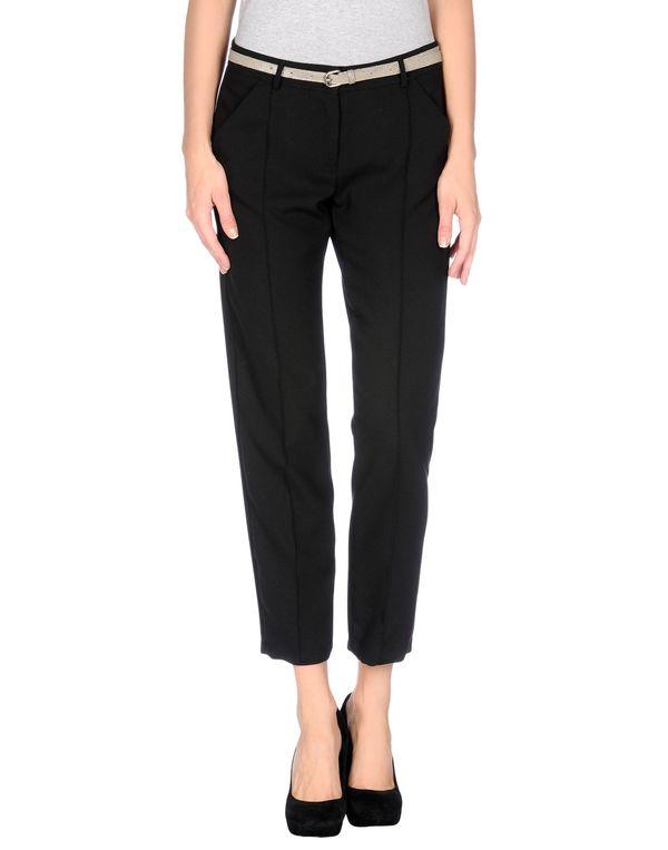 黑色 TWIN-SET SIMONA BARBIERI 裤装