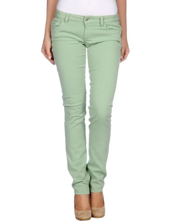 浅绿色 LIU •JO JEANS 裤装