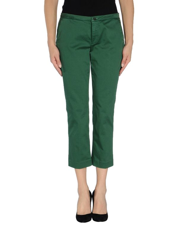 绿色 LIU •JO JEANS 七分裤
