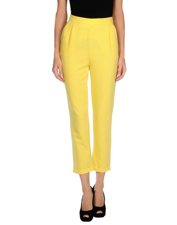 黄色 NOSHUA 裤装