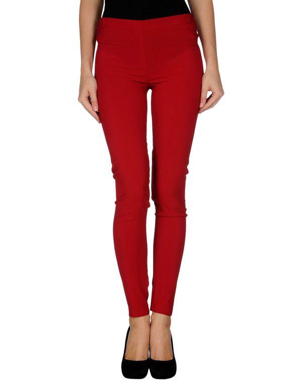 红色 JUCCA 打底裤