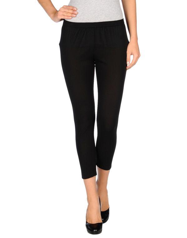 黑色 TWIN-SET SIMONA BARBIERI 七分裤