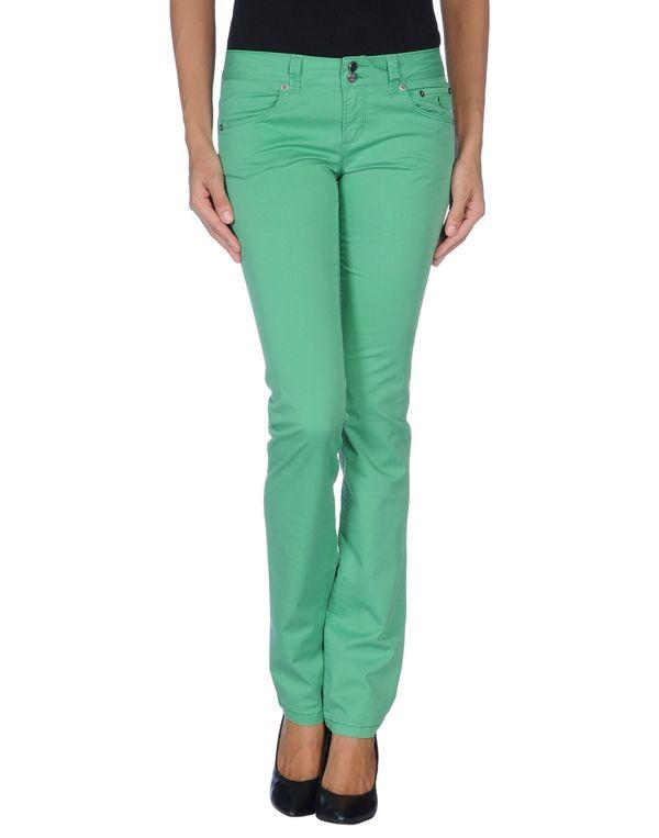 绿色 SIVIGLIA 裤装
