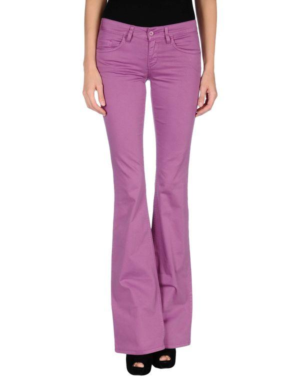 紫色 LIU •JO JEANS 裤装