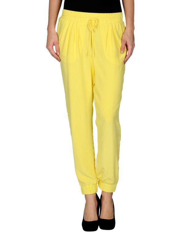 黄色 BAND OF OUTSIDERS 裤装
