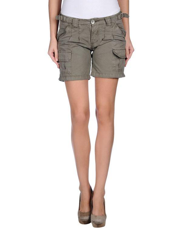 军绿色 40WEFT 短裤