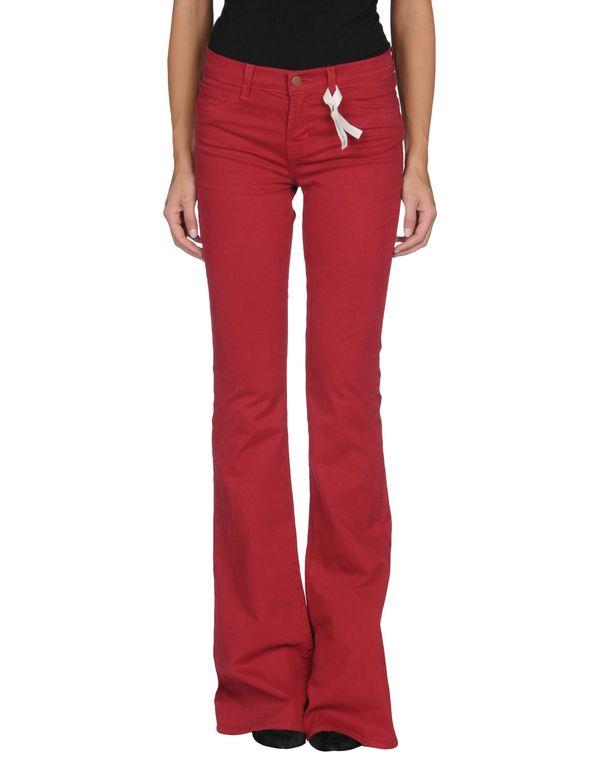 砖红 J BRAND 裤装