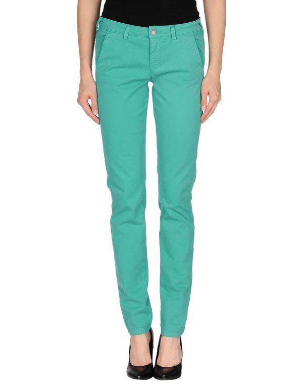绿色 40WEFT 裤装