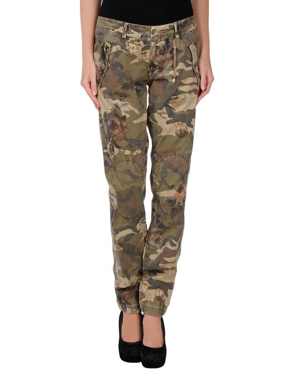 军绿色 40WEFT 裤装