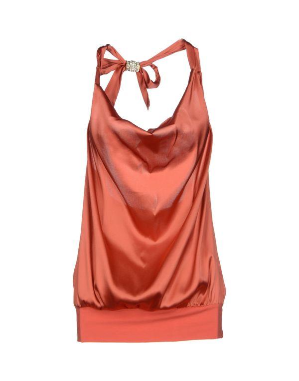 珊瑚红 PATRIZIA PEPE 上衣
