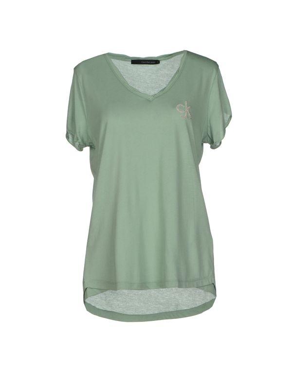 浅绿色 CALVIN KLEIN JEANS T-shirt