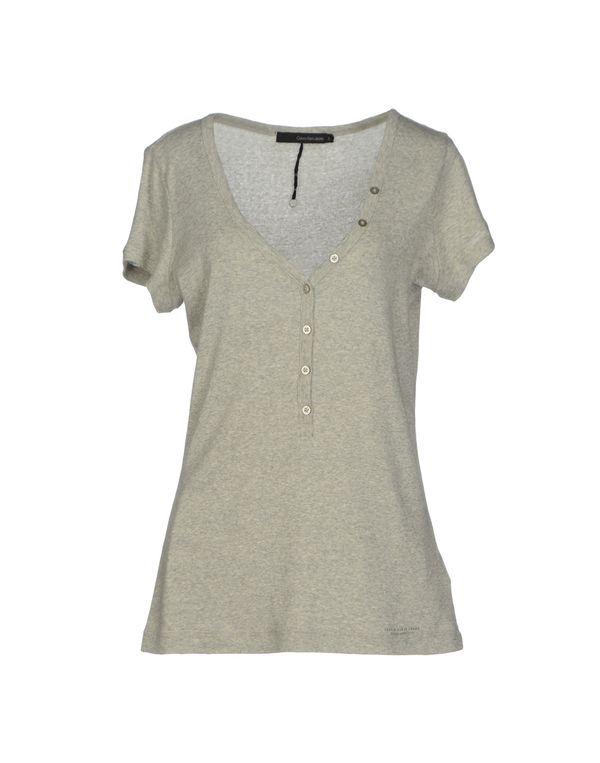 灰色 CALVIN KLEIN JEANS T-shirt