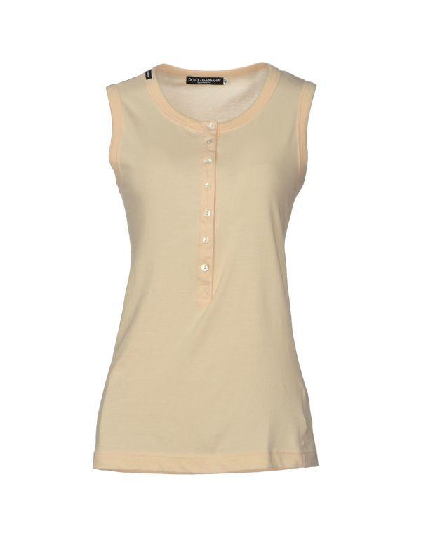 浅粉色 DOLCE & GABBANA T-shirt