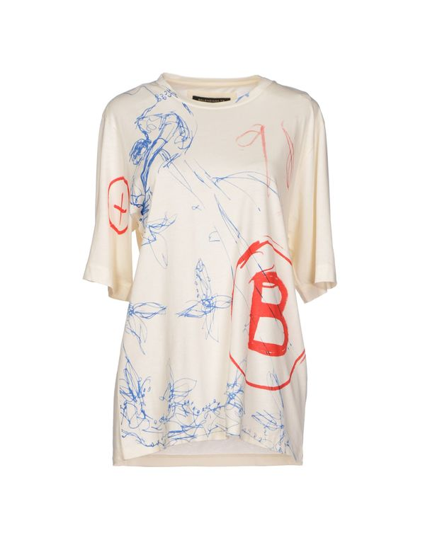 象牙白 BALENCIAGA T-shirt