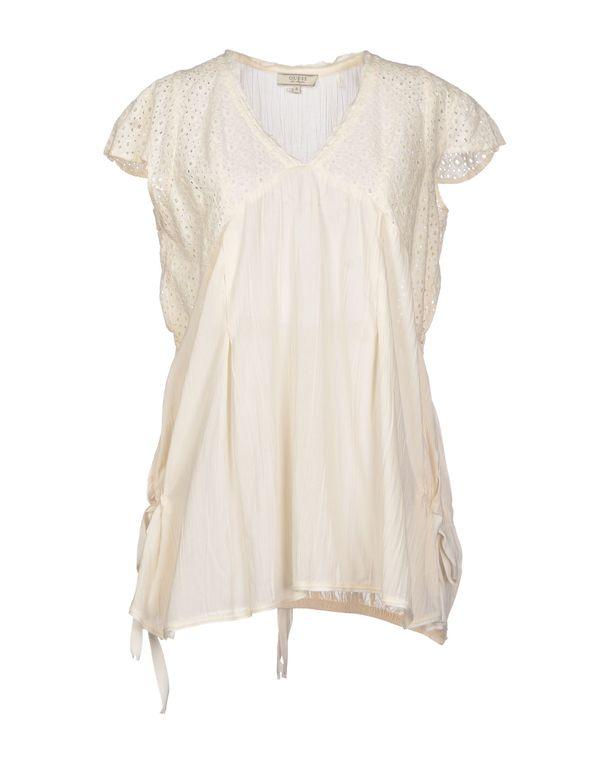 象牙白 GUESS 女士衬衫