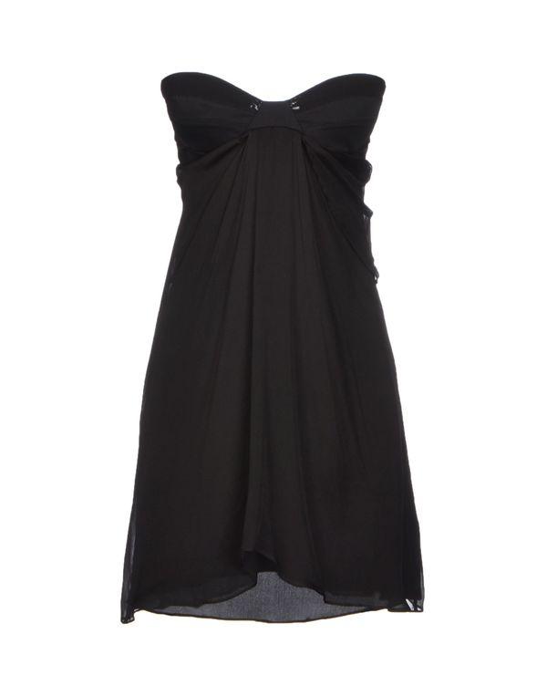 黑色 LIU •JO 短款连衣裙