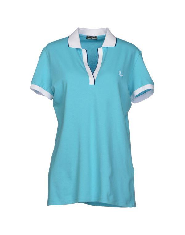 天蓝 FRED PERRY Polo衫