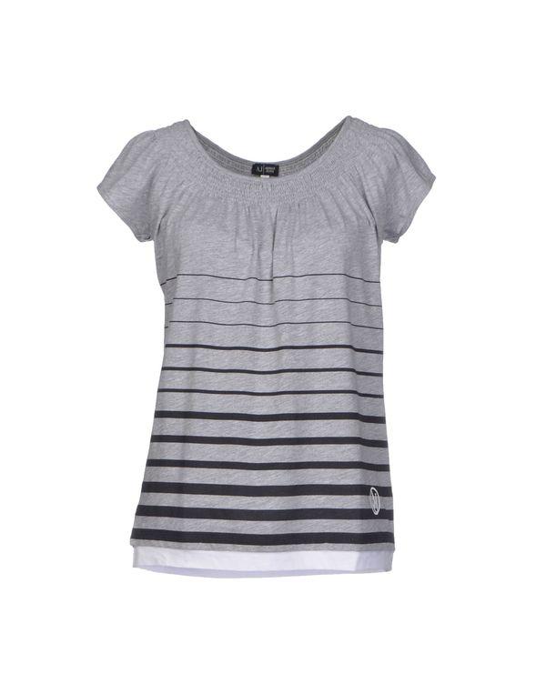 淡灰色 ARMANI JEANS T-shirt